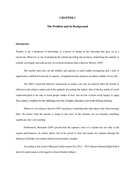 how to write chapter 1 of a dissertation thesis chapter 1