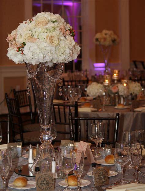 vase wedding centerpieces wedding reception table
