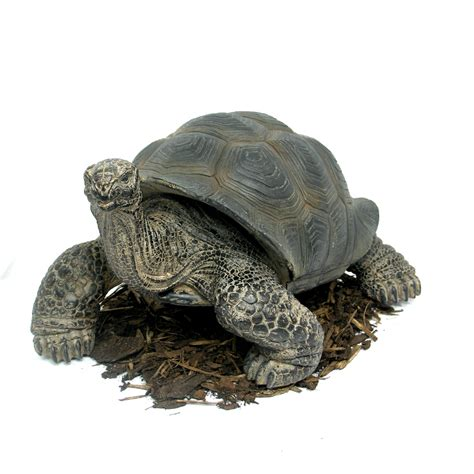 46cm giant tortoise resin garden ornament 163 67 99