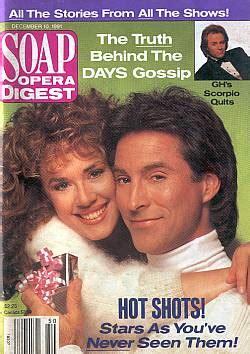 Favorite Steve Sohmer 12 10 91 soap opera digest hogestyn staci greason soap opera world back issues of soap