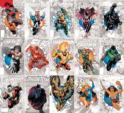 The New 52 20 Plus Years Of 32 Pages The New 52 One Year Later