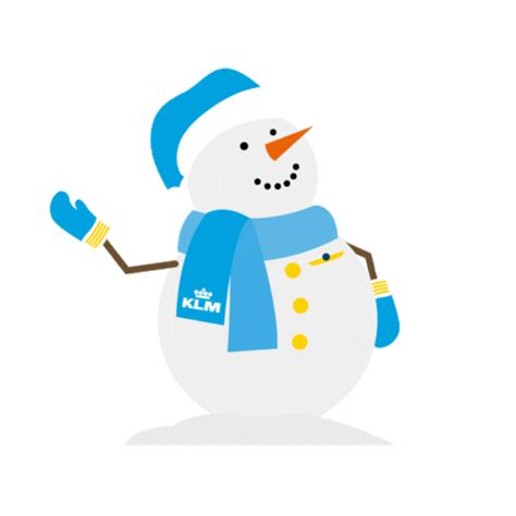 flying merry christmas sticker  klm  ios android giphy