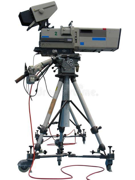 camaras tv tv professional studio digital stock image