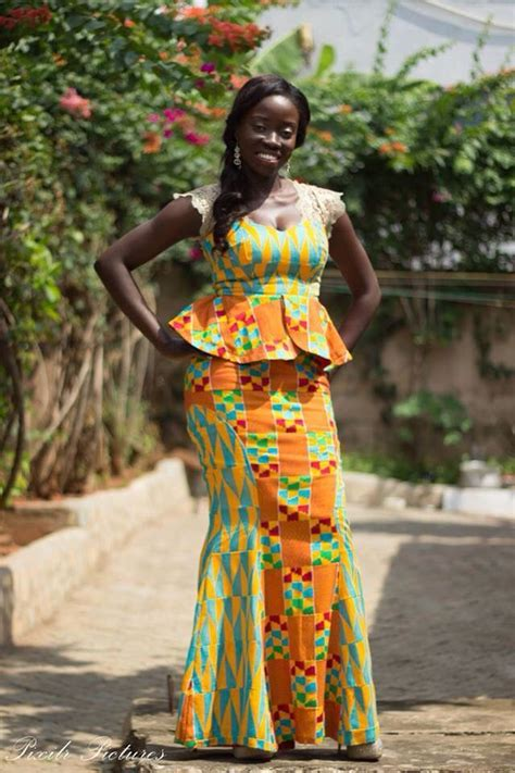 ghana african traditional outfit varieties of ghanaian kente cloth style african wardrobe