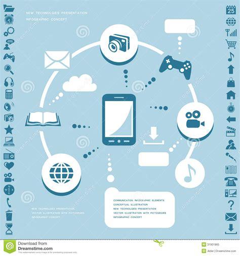 design elements visual communication communication infographic elements royalty free stock