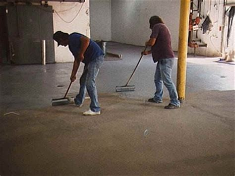 ACID ETCHING   concrete epoxy paint prep