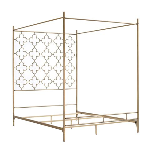 Canopy Shopping by Retro Glitz Quatrefoil Canopy Bed Overstock