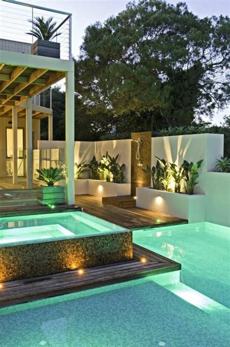 moderne gärten mit wasser votre piscine semi enterr 233 e 30 id 233 es cr 233 atives