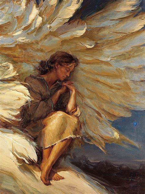 angelhide a modern daniel gerhartz 1965 impressionist painter tutt