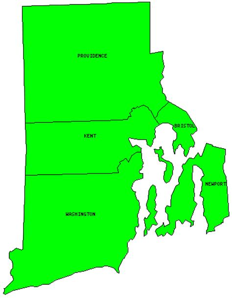 map of rhode island counties rhode island counties visited with map highpoint