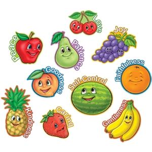 9 fruits learning center fruit of the spirit accents classroom decorations tcr 7066