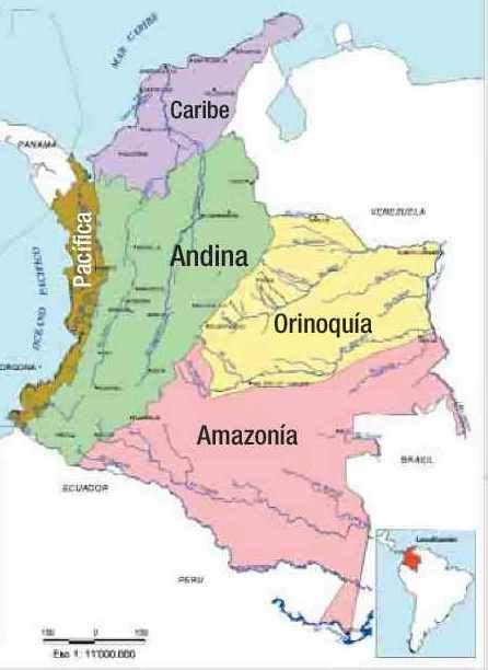 imagenes regiones naturales de colombia las regiones naturales de colombia reveladores
