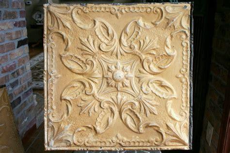 How To Antique Tin Ceiling Tiles by Antique Ceiling Tin Tile Tin Tiles