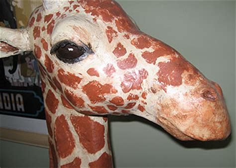 How To Make A Paper Mache Giraffe - where to buy paper mache animals stonewall services