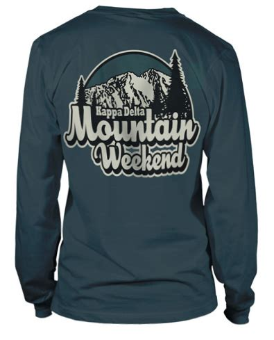 Tshirt Evolution Chap 8262 kappa delta mountain weekend shirts