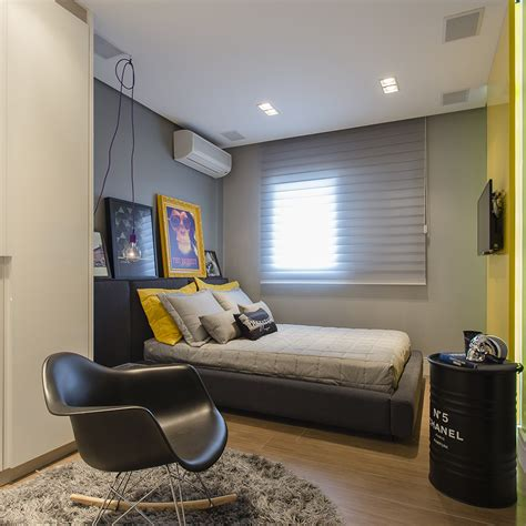young men s bedroom on pinterest young mans bedroom men quarto de solteiro planejado 60 ideias fotos e projetos