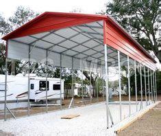rv shelter regular metal rv carport xx   camping  barr    life rv