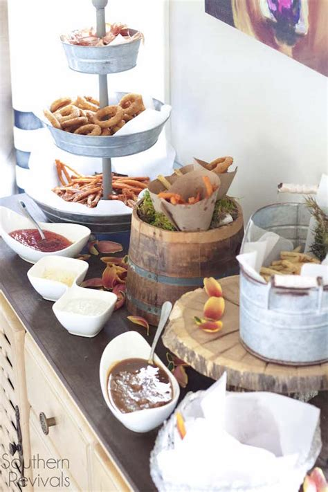 french fry bar toppings 20 fabulous food bar ideas for entertaining food curation