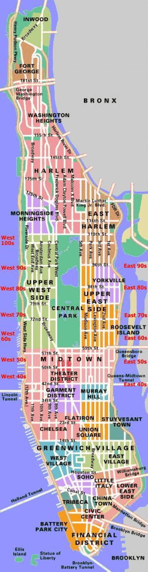 manhattan ny map of city new york maps only nyc