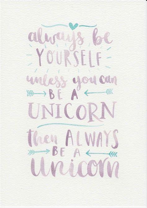 printable unicorn sayings unicorn quote purple mint nursery art watercolor