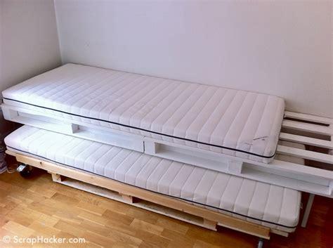 diy futon sofa bed sofa bunk bed made with pallets diy home d 233 cor