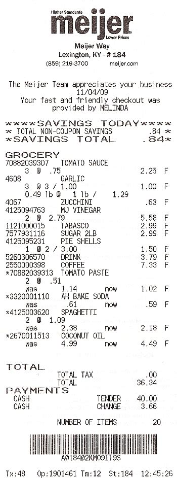 supermarket receipt template 2nd batch of grocery receipts at home with guinever