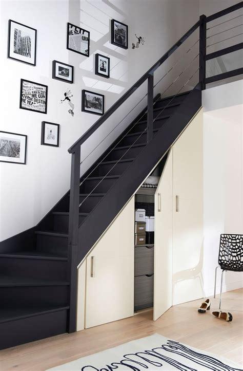 Rangement Chaussures Sous Escalier 4246 by Rangement Gain De Place 15 Id 233 Es Pour La Cuisine La