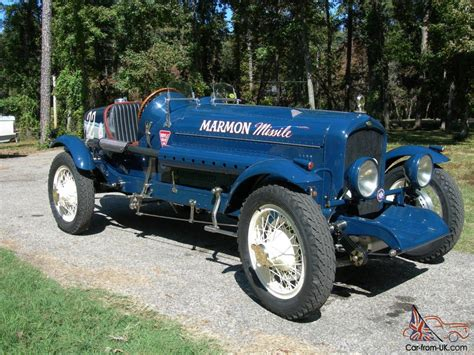 boat tail car for sale rare 1929 marmon boat tail race car