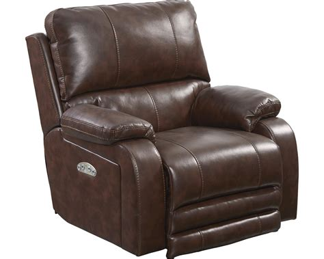catnapper power recliner catnapper thornton power headrest power lay flat recliner