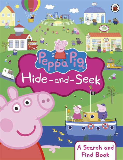 seek and find books pictures peppa pig hide and seek a search and find book penguin