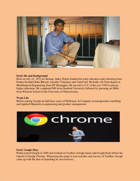 Pursuing Mba Meaning In Tamil by Sundar Pichai Great Tamilian Ceo Arise Dreams