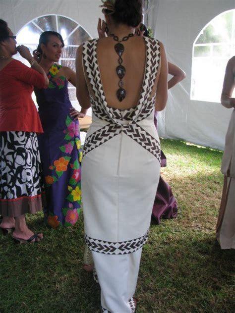 paula chan  design polynesian dress