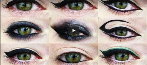 eyeliner tutorial for different eye shapes change your eye shape with these 12 eyeliner tutorials