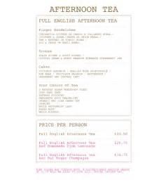 Afternoon tea menu related keywords amp suggestions afternoon tea menu