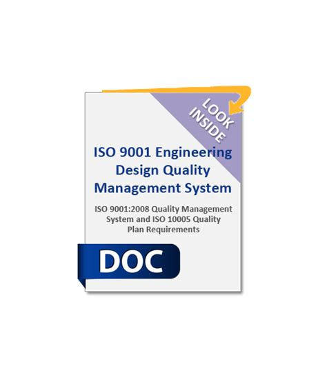 engineering design quality management iso9001 engineering design quality management system