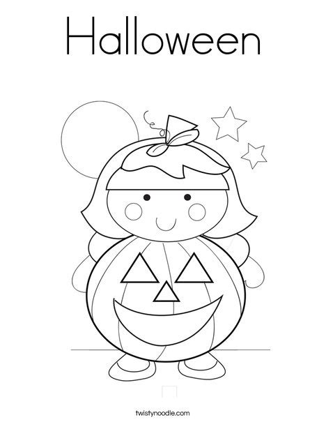 Halloween Coloring Pages Twisty Noodle | halloween coloring page twisty noodle