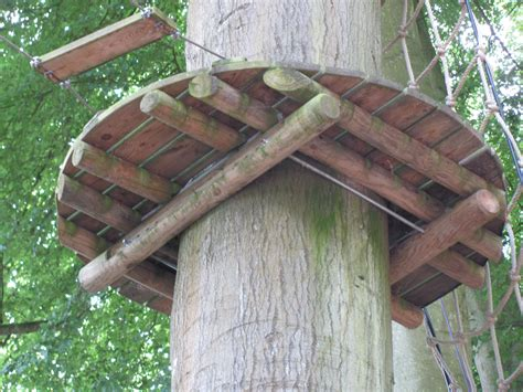 Backyard Fort For Kids File Non Invasive Method Of Fixing A Tree Platform Jpg