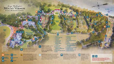 mt vernon trail map george washington huis house mount vernon potomac