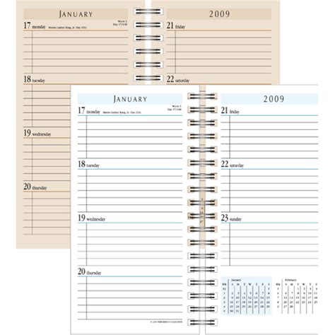 printable day planner refills free 5 best images of free printable planner refills free