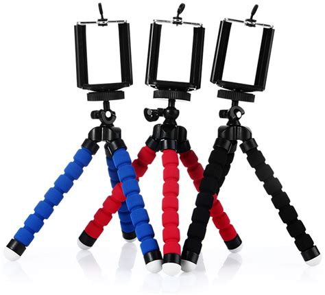 Tripod Portable Telephone Universal Rotating Mobile Phone Holder dealsmachine portable octopus style tripod stand