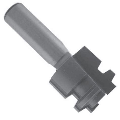 drawer lock router bit drawer lock bit 1 1 16 dia 3 4 cut length 1 4 shank