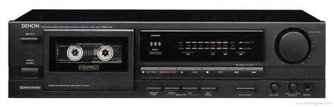 denon cassette deck denon drm 510 manual stereo cassette deck hifi engine