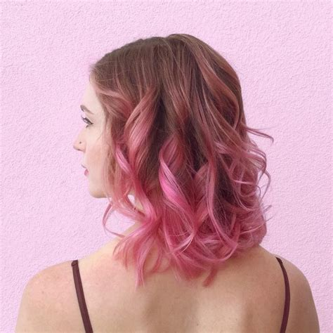 dark black brown to pastel ombre hair color trends 2015 sweet pink ombre hair for 2017 new hair color ideas