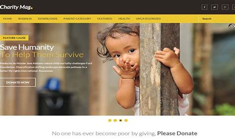 blogger templates for charity charity mag blogger template