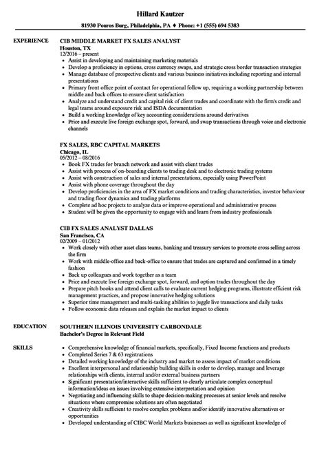 Fixed Income Portfolio Manager Sle Resume by Fixed Income Sales Analyst Description Resume Genius Best Resume Templates