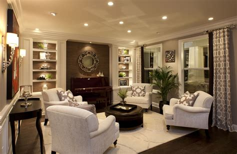 stylish transitional living room    robeson