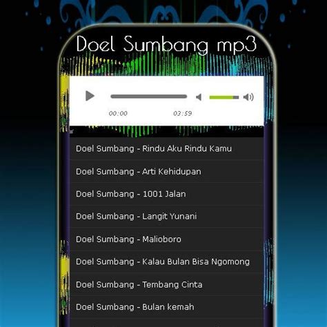 download mp3 doel sumbang terbaik download lagu doel sumbang terbaik apk full apksfull com
