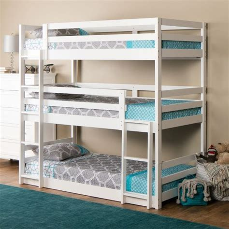 three bed bunk beds best 25 bunk beds ideas on bunk