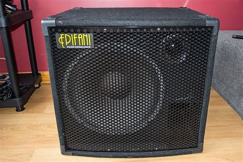 epifani ps115 15 quot bass speaker cabinet with tweeter reverb