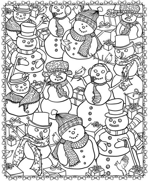 coloring pages christmas for adults 8 christmas coloring pages for adults